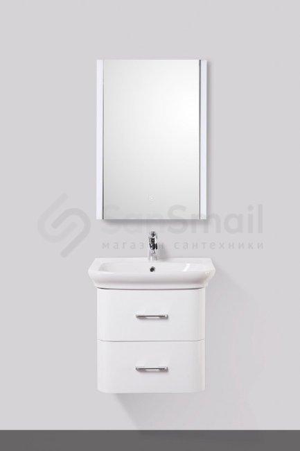 Мебель альпина для ванной Водяной полотенцесушитель Тругор ПМ 2 без полки  хром ПМ2/6060