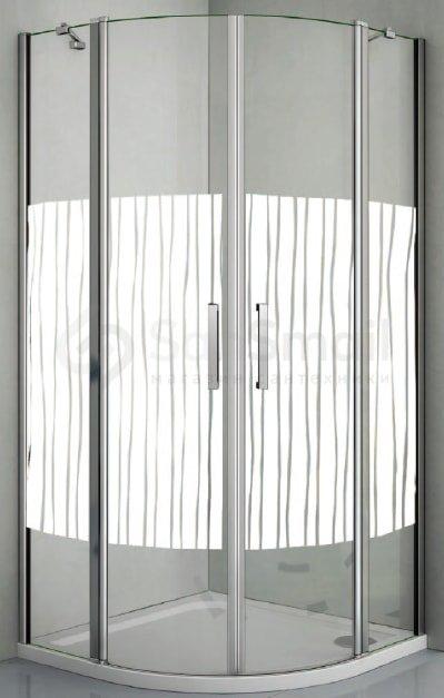 Душевой уголок Good Door Pandora R80 обложка ванной комнаты плиткой