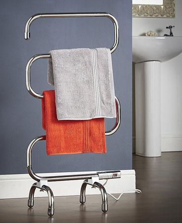 Электрический напольный полотенцесушитель