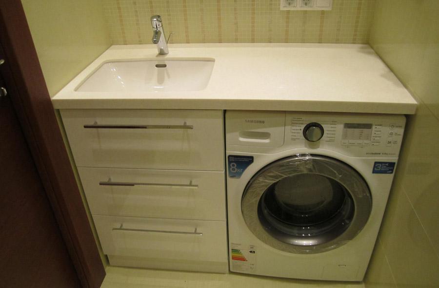 Комплект мебели под стиральную машину фото